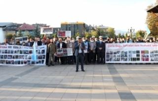 Çin'in Doğu Türkistan'a yaptığı zulüm...