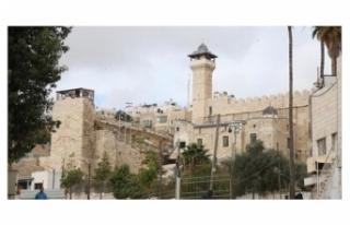 İşgalci İsrail durmuyor: Harem-i İbrahim Camisi'ni...
