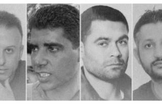 İsrail hapishanesinden tünel kazarak kaçan 4 Filistinli...