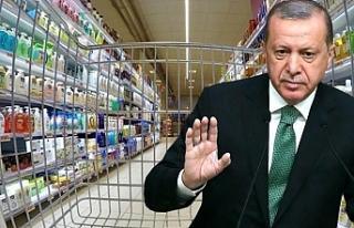 Zincir marketlerdeki fahiş fiyat artışıyla ilgili...