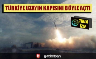 Türkiye uzayın kapısını böyle açtı