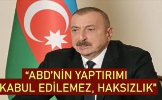 İlham Aliyev'den ABD'nin Türkiye'ye S-400 yaptırım kararına tepki: Kabul edilemez, haksızlık