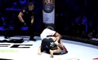 Ermeni dövüşçü MMA maçında Türk rakibini boğarak öldürmeye çalıştı