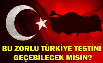 Bu zorlu Türkiye testini geçebilecek misin?