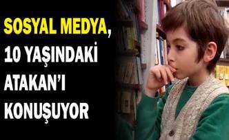 Sosyal medya, 5 ayda 250 kitap okuyan 10 yaşındaki Atakan'ı konuşuyor