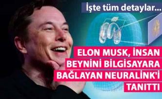 Elon Musk Neuralink'i tanıttı İşte Tüm Detaylar...