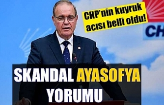 CHP'li Faik Öztrak'tan skandal Ayasofya yorumu