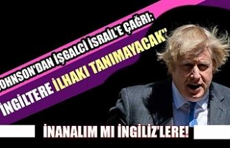 Dünya İngiltere Başbakanı Johnson'dan işgalci İsrail'e çağrı: İlhak'tan vazgeçin!