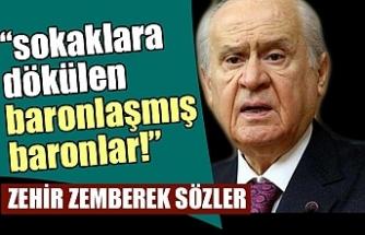 """Son dakika: MHP lideri Devlet Bahçeli'den flaş """"baro"""" açıklaması"""