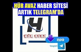 Hür Avaz artık Telegram uygulamasında!