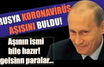 Putin, Rusya'nın ilk koronavirüs aşısını açıkladı! Aşıya verilen isim ABD'ye mesaj niteliğinde