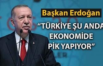 Başkan Erdoğan: Türkiye şu anda ekonomide pik yapıyor