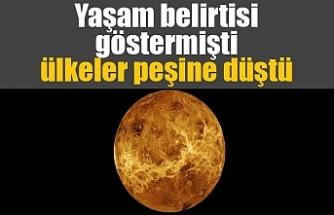 Yaşam belirtisi gösteren Venüs, uzay yarışını kızıştırdı