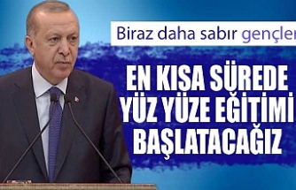 Cumhurbaşkanı Recep Tayyip Erdoğan, 2020-2021 YÖK Akademik Yılı Açılış Töreni'ne katıldı