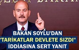"""İçişleri Bakanı Soylu'dan """"Tarikatlar devlete sızdı"""" iddiasına sert yanıt: Provokasyon"""