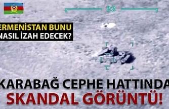 Karabağ'da skandal görüntü! Aliyev açıklamıştı...