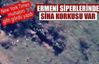New York Times, Ermenistan cephesindeki tabloyu ortaya koydu
