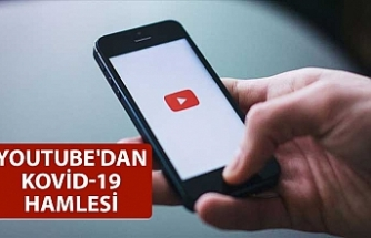 Youtube'dan Kovid-19 hamlesi