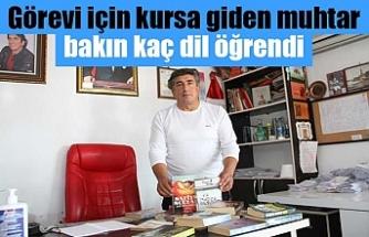 Antalya'da 3 dil bilen muhtar 40 milletten 15 bin yabancıya hizmet ediyor