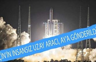 Çin'in insansız uzay aracı, Ay'a gönderildi