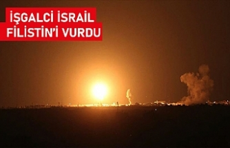 İsrail ordusu Gazze'deki Hamas'a ait noktaları vurduğunu açıkladı
