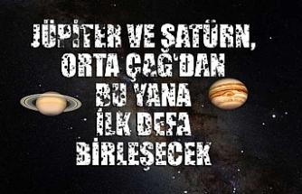 Jüpiter ve Satürn, Orta Çağ'dan bu yana ilk defa birleşecek