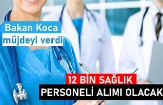 Sağlık Bakanı Koca 12 bin sağlık personeli alımının ayrıntılarını açıkladı! 2020 kılavuzu... ÖSYM,12 bin sağlık personeli alım tarihleri! İşte açık kadrolar!