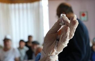 Kovid-19 aşısı yapılan kişi sayısı 1 milyonu geçti