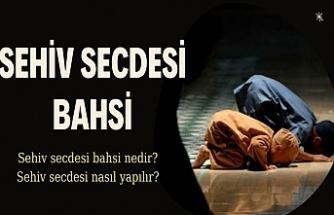 Sehiv Secdesi Nasıl Yapılır?