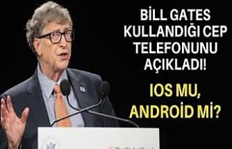 Bill Gates kullandığı cep telefonunu açıkladı! IOS mu, Android mi?