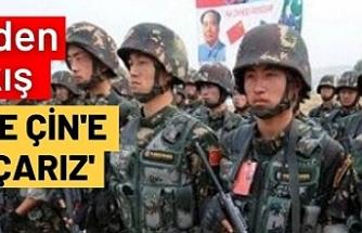 Türkiye'den flaş çıkış! 'Gerekirse Çin'e savaş açarız'