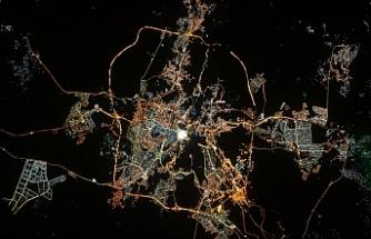 Fransız astronot Thomas Pesquet, Mekke'nin uzay fotoğrafıyla bayramı kutladı