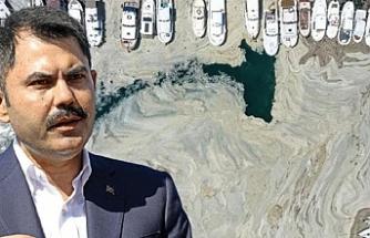 Marmara'da müsilaj seferberliği! Çevre ve Şehircilik Bakanı Murat Kurum tarih verdi: Deniz 5 yıl içinde eski haline dönecek