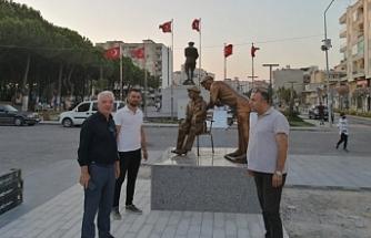 Sağlık bahane heykel şahane! CHP'li belediyenin heykel için bahanesi hazır