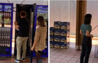 25 yıl sonra bunu da gördük: BELTUR'da alkol satışı!