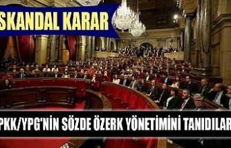 Skandal karar: PKK/YPG'nin sözde özerk yönetimini tanıdılar