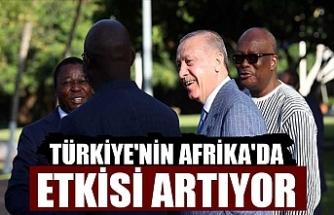 Türkiye'nin Afrika'da etkisi artıyor