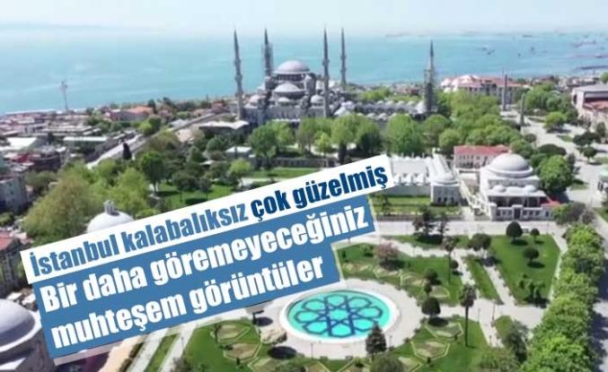 İstanbul, sokak yasağıyla sessizliğe büründü