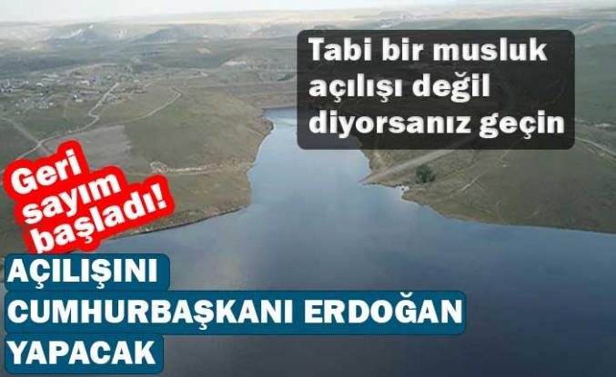 Geri sayım başladı! Açılışını Cumhurbaşkanı Erdoğan yapacak