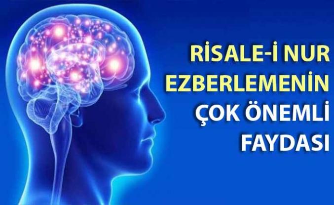 Risale-i Nur'u ezberlemenin çok önemli faydası