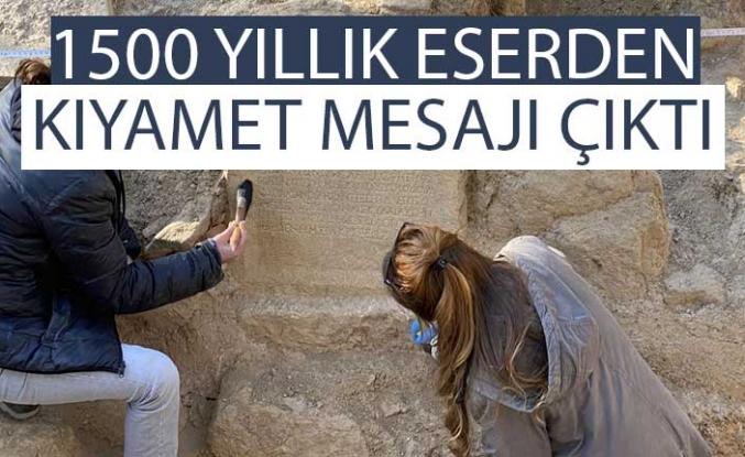 Bursa'da Roma dönemine ait mezar taşı bulundu