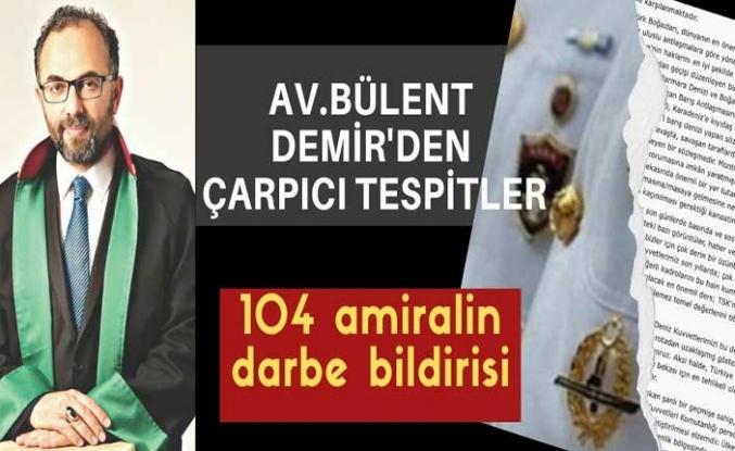 104 Emekli Amiral'den 'Darbe' imalı bildiri