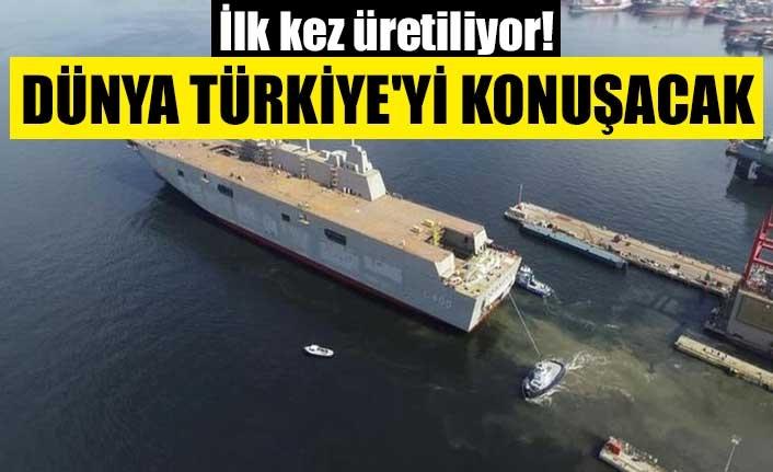 İlk kez üretiliyor! Dünya Türkiye'yi konuşacak